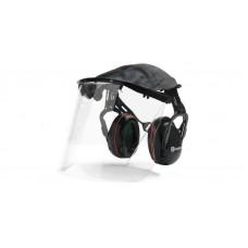 Gehörschutz mit Plexiglasvisier